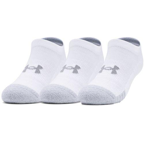 Paquete de tres pares de calcetines HeatGear® No Show para jóvenes