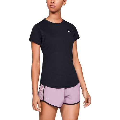 Camiseta de manga corta UA Streaker para mujer
