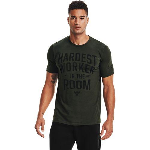 Camiseta Manga Corta Project Rock Hardest Worker para Hombre