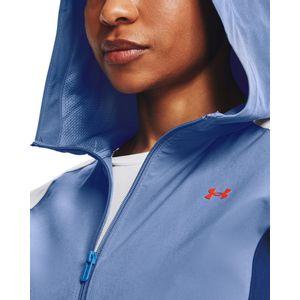 Woven Cb Wm Hooded Jacket-Blu