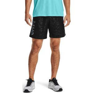 Ua Woven Emboss Shorts-Blk