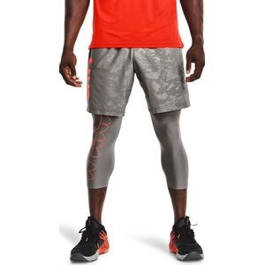 Ua Woven Emboss Shorts-Gry